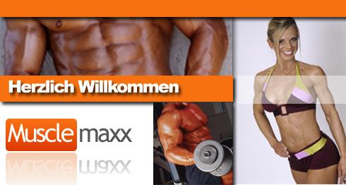 Fitness Shop Sporternährung Muskelaufbau Produkte